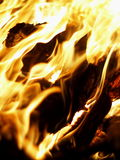 Flame and fire Stock Photography