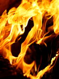 Flame and fire Stock Photos