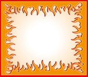 Flame frame Royalty Free Stock Photos