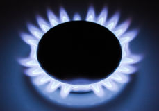 Flame of gas Royalty Free Stock Image