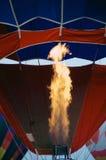 Flame of hot air balloon Royalty Free Stock Photos
