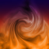 Flame illustration abstract background Stock Photo