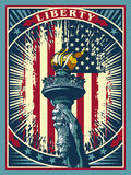 Flame of Liberty Royalty Free Stock Images