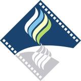 Flame logo Stock Image