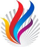 Flame logo Stock Photo