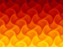 Flame Pattern. Abstract Flame Fractal Pattern Design Stock Images