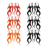 Flame pattern Royalty Free Stock Image