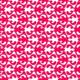 Flame Shapes Geometric Seamless Texture. Red floral flame shapes seamless background pattern. Abstract texture wallpaper Stock Photos