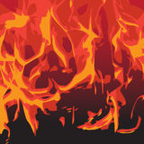 Flame texture Royalty Free Stock Photography