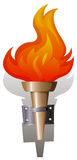 Flame and torch Royalty Free Stock Photos