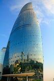 The Flame Towers, Baku, Azerbaijan Stock Image