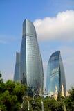 The Flame Towers, Baku, Azerbaijan Stock Photos