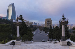 Flame Towers in Baku Royalty Free Stock Photos