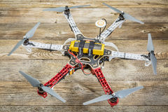 Flame Wheel F550 hexacopter drone Royalty Free Stock Photography