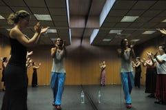 "Flamenco δάσκαλος Miguel Vargas στο Flamenco κέντρο ""Λα Merced ""τέχνης στο Καντίζ στοκ εικόνες με δικαίωμα ελεύθερης χρήσης"