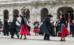 Flamenco ομάδα Στοκ εικόνες με δικαίωμα ελεύθερης χρήσης