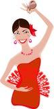 Flamenco χορευτής Στοκ φωτογραφία με δικαίωμα ελεύθερης χρήσης