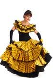 flamenco χορευτών Στοκ Φωτογραφία