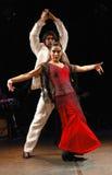flamenco χορευτών Στοκ φωτογραφία με δικαίωμα ελεύθερης χρήσης