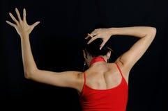 flamenco χορευτών Στοκ Φωτογραφίες