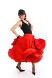 flamenco χορευτών Στοκ Εικόνες