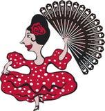 flamenco танцора Стоковое Изображение RF