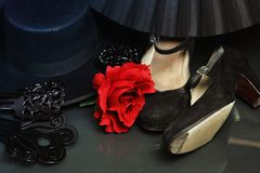 Flamenco accessories Stock Photos