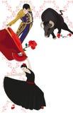 Flamenco And Bullfighting Royalty Free Stock Photos