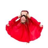 Flamenco atrativo novo da dança da mulher foto de stock royalty free