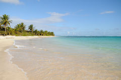Flamenco Beach, Puerto Rico royalty free stock image