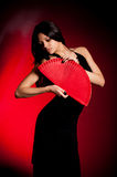 Flamenco Carmen beautiful woman Stock Image