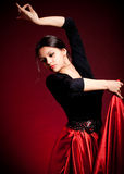 Flamenco Carmen beautiful woman Royalty Free Stock Image