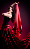 Flamenco Carmen beautiful woman Royalty Free Stock Photos