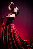Flamenco Carmen beautiful woman Royalty Free Stock Photography