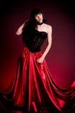 Flamenco Carmen beautiful woman in dress Royalty Free Stock Images