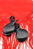 Flamenco castanets Royalty Free Stock Image