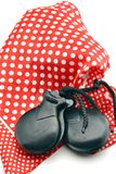 Flamenco castanets Stock Photos