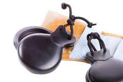 Flamenco castanets Royalty Free Stock Images