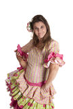 Flamenco costume Royalty Free Stock Image