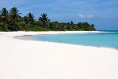 остров flamenco culebra пляжа Стоковые Изображения RF