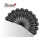 Flamenco culture design Royalty Free Stock Photography