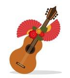 Flamenco culture design Stock Photo