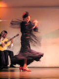 Flamenco Dance Madrid Stock Photo