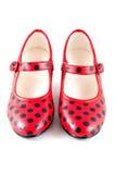 Flamenco dance shoes Stock Photography