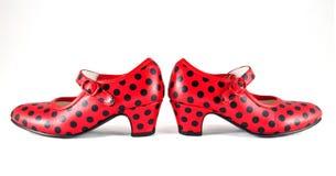 Flamenco dance shoes Stock Photos