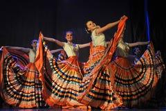 Flamenco dance Stock Image