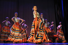 Flamenco dance Royalty Free Stock Images