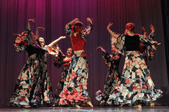 Flamenco dance Stock Photography