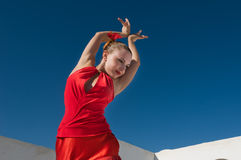 Flamenco dancer Royalty Free Stock Image