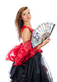 Flamenco dancer. Stock Photography